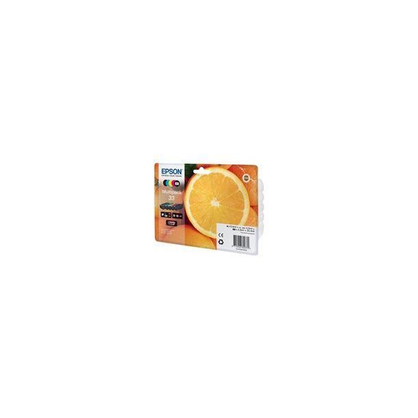 Epson 33XL Multipack - 5 pakker - sort, gul, cyan, magenta og foto sort