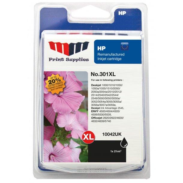 MMPS Black Inkjet Cartridge No.301XL - kompatibel HP