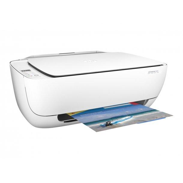 HP Deskjet 3630 All-in-One Blækprinter (BRUGT)