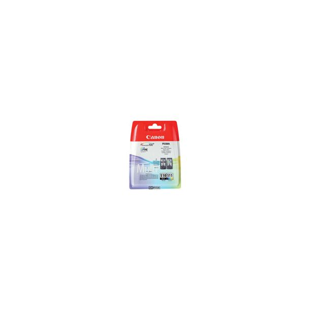 Canon PG-510 Black & CL-511 color Multi Pack