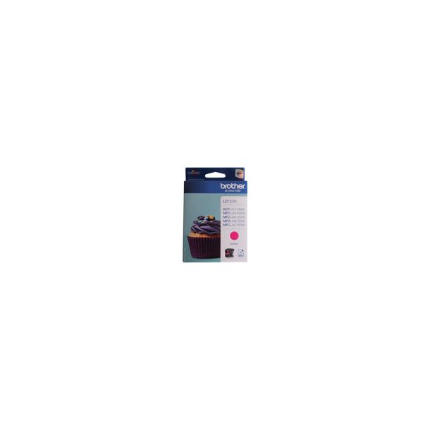 Brother Inkjet - LC123M - Magenta 600 sider