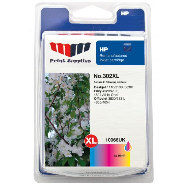 MMPS Color Inkjet Cartridge No.302XL - kompatibel HP