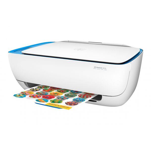 HP Deskjet 3639 All-in-One Blækprinter