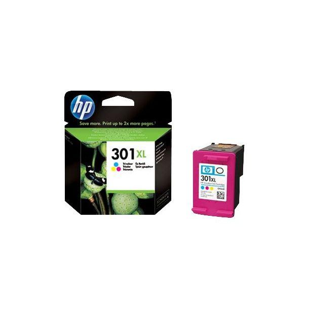 HP 301XL Farve (cyan, magenta, gul) 330 sider