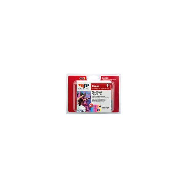 MMPS PGI-570XL & CLI-571XL Bundle (BK & BK/C/M/Y) - kompatibel CANON
