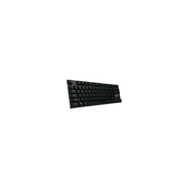 Havit HV-KB390L Tastatur Mekanisk Isblå Kabling Nordisk