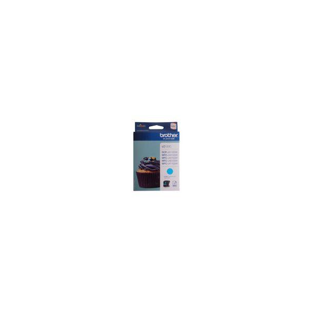 Brother Inkjet - LC123C - Cyan 600 sider