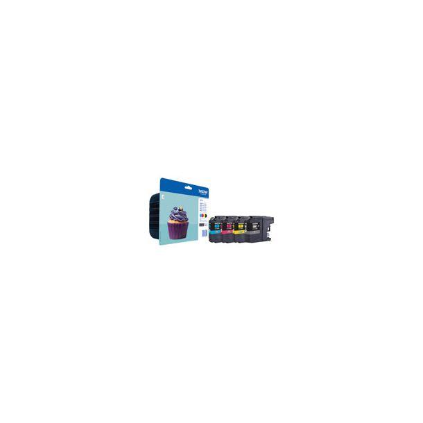 Brother Inkjet - LC123VALBPDR Value pack 4 farver