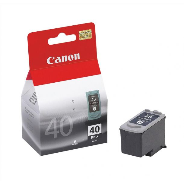 Canon PG 40BK Pigmenteret sort