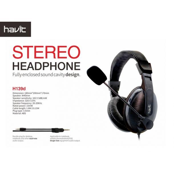 Havit Basicline Headset Black/Grey