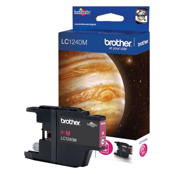 Brother Brother LC 1240M Magenta 600 sider