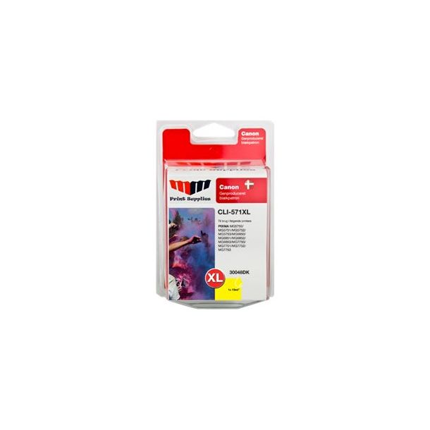 MMPS Yellow Inkjet Cartridge (CLI-571YXL)