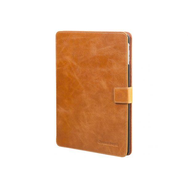 dbramante1928 Folio Copenhagen - Beskyttelsescover til tablet - ægte læder - gylden tan - for Apple