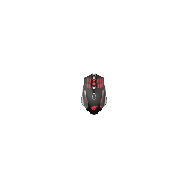 Havit Gaming mouse wired Black/Red HV-MS765