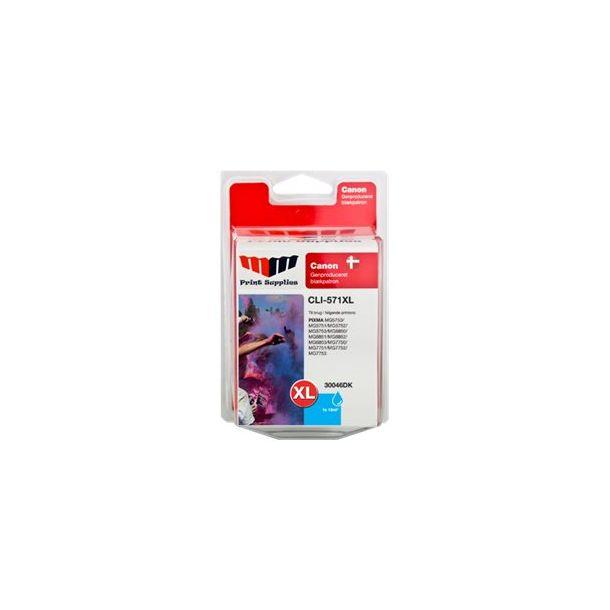 MMPS Cyan Inkjet Cartridge (CLI-571CXL)
