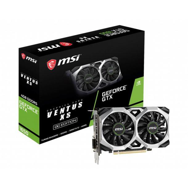 MSI GTX 1650 VENTUS XS 4G OC 4GB GDDR5